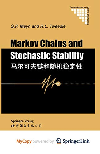 9781447132684: Markov Chains and Stochastic Stability