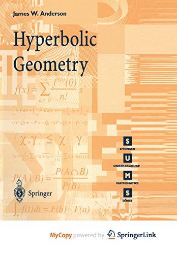 9781447139881: Hyperbolic Geometry