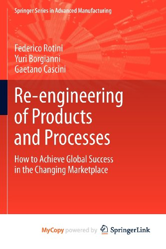 9781447140184: Re-engineering of Products and Processes: How to Achieve Global Success in the Changing Marketplace