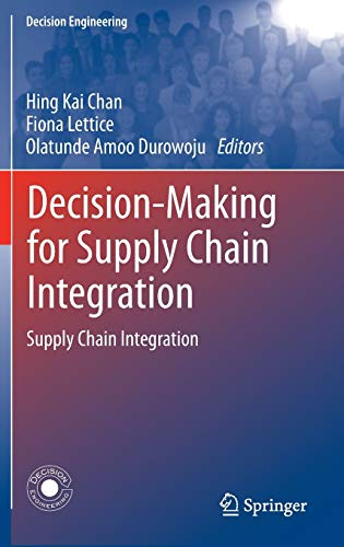 Decision-Making for Supply Chain Integration (Decision Engineering)