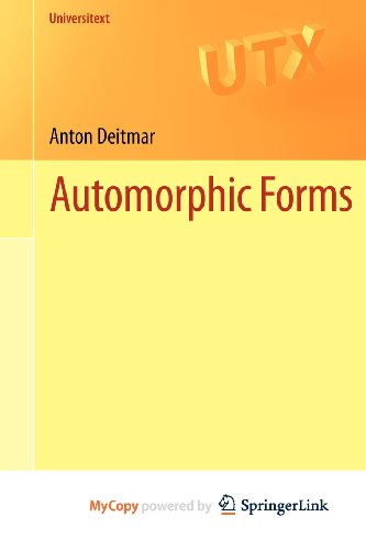 9781447144366: Automorphic Forms