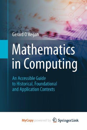 9781447145356: Mathematics in Computing