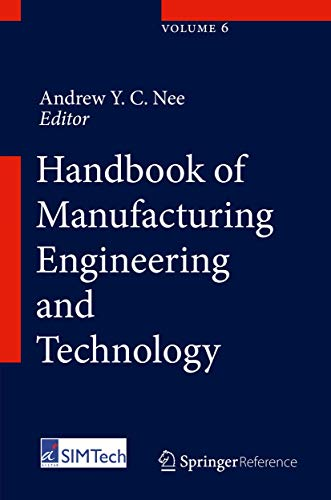 9781447146698: Handbook of Manufacturing Engineering and Technology
