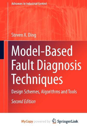 9781447148005: Model-Based Fault Diagnosis Techniques