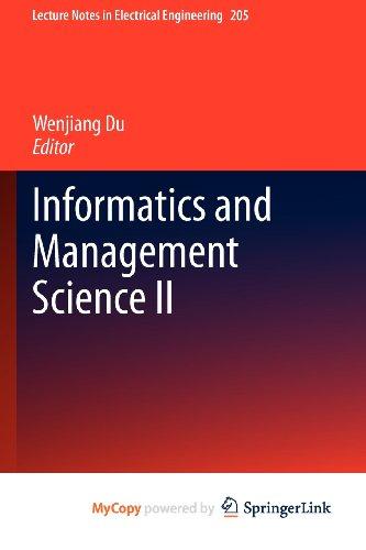 9781447148128: Informatics and Management Science II