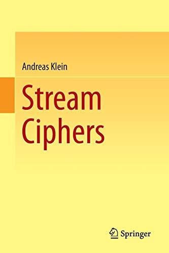 9781447150787: Stream Ciphers
