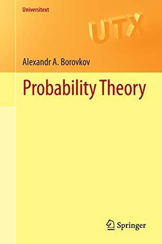 9781447152002: Probability Theory (Universitext)