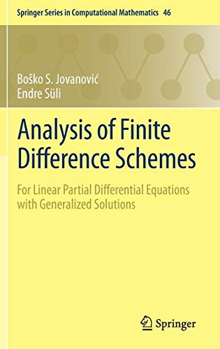Analysis of Finite Difference Schemes: BoSko S. Jovanovic