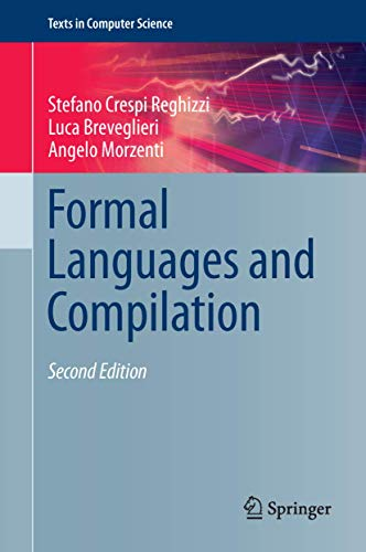 9781447155133: Formal Languages and Compilation (Texts in Computer Science)
