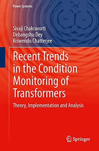 9781447155508: Recent Trends in the Condition Monitoring of Transformers: Theory, Implementation and Analysis (Power Systems)