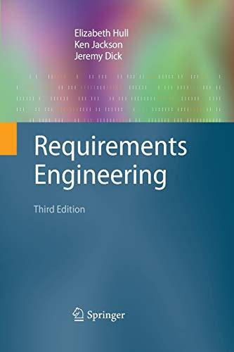 9781447158189: Requirements Engineering