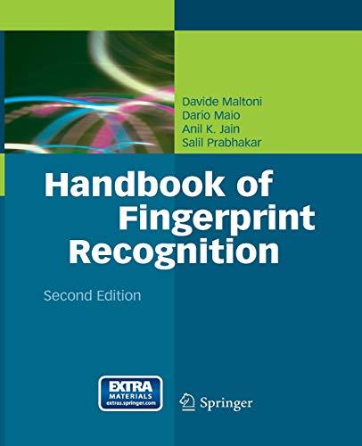 Handbook of Fingerprint Recognition: Maltoni, Davide, Maio,