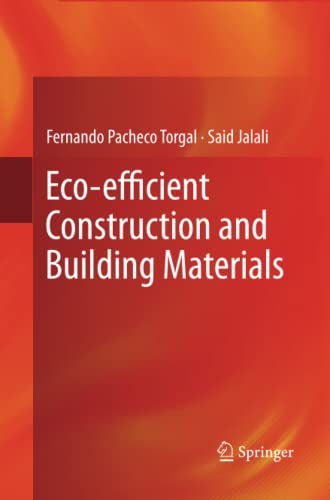 9781447161325: Eco-efficient Construction and Building Materials