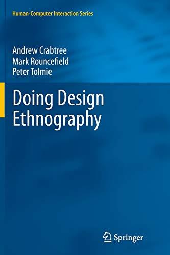 9781447161608: Doing Design Ethnography