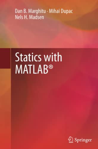 9781447161950: Statics with MATLAB®