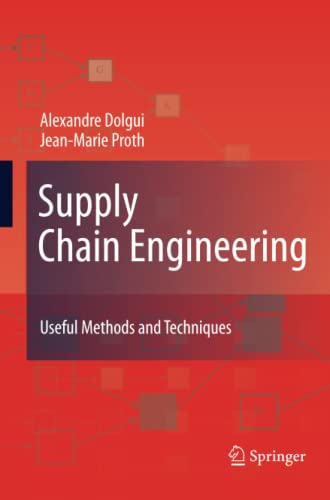 9781447162001: Supply Chain Engineering: Useful Methods and Techniques