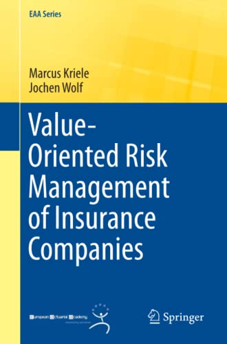 9781447163046: Value-Oriented Risk Management of Insurance Companies (EAA Series)