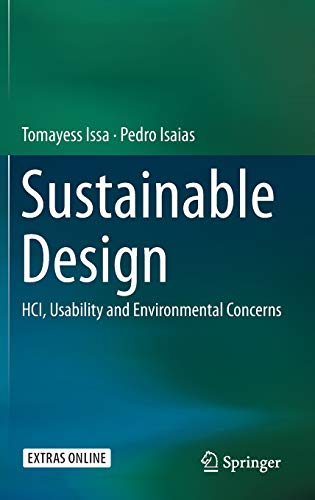 9781447167525: Sustainable Design: HCI, Usability and Environmental Concerns (Human Computer Interaction)