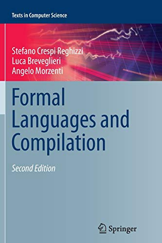 9781447168683: Formal Languages and Compilation (Texts in Computer Science)