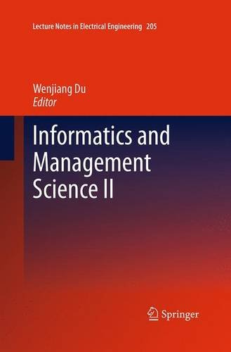 9781447172215: Informatics and Management Science II (Lecture Notes in Electrical Engineering)