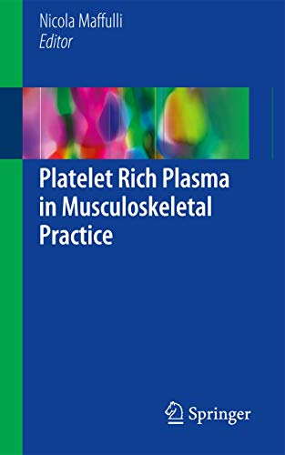 9781447172703: Platelet Rich Plasma in Musculoskeletal Practice