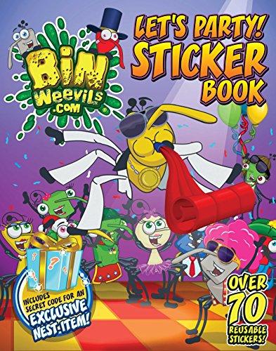 9781447207733: Bin Weevils Let's Party! Sticker Book