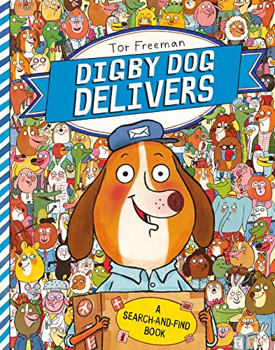 9781447236900: Digby Dog Delivers: A Search-and-Find Book