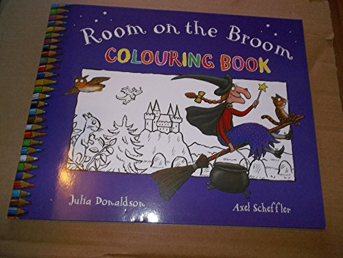 9781447237907: Room on the Broom Colouring Book