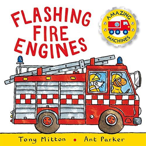 9781447250739: Flashing Fire Engines (Amazing Machines)