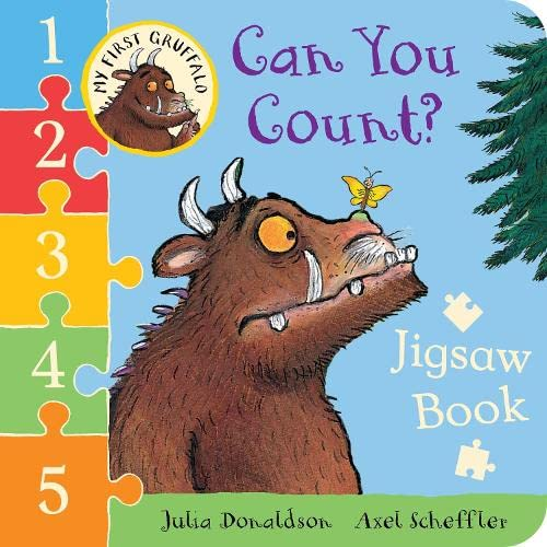 9781447267072: My First Gruffalo: Can You Count? Jigsaw book (My First Gruffalo Jigsaw)