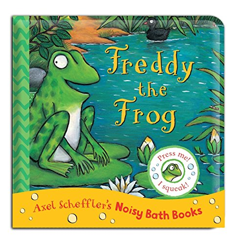 9781447268048: Freddy the Frog Bath Book (Noisy Bath Books)