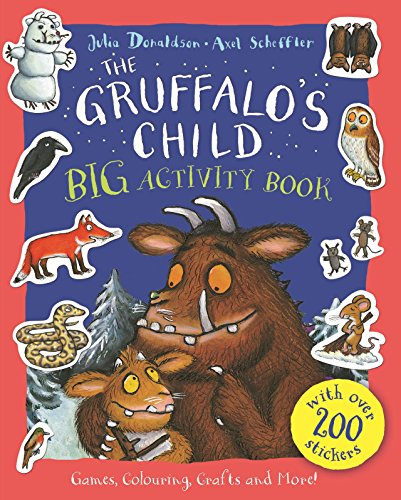 9781447277132: The Gruffalo's Child Big Activity Book
