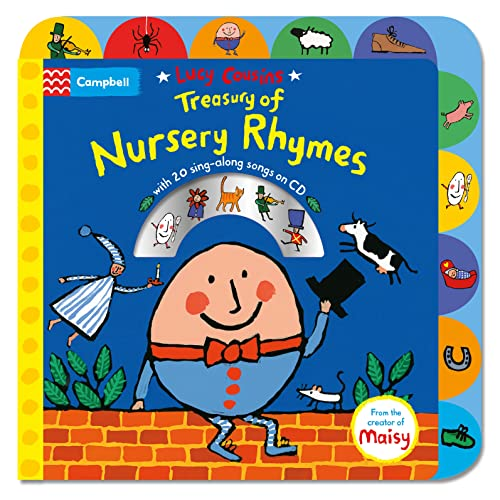 9781447277248: Lucy Cousins Treasury of Nursery Rhymes: Big Book of Nursery Rhymes and CD