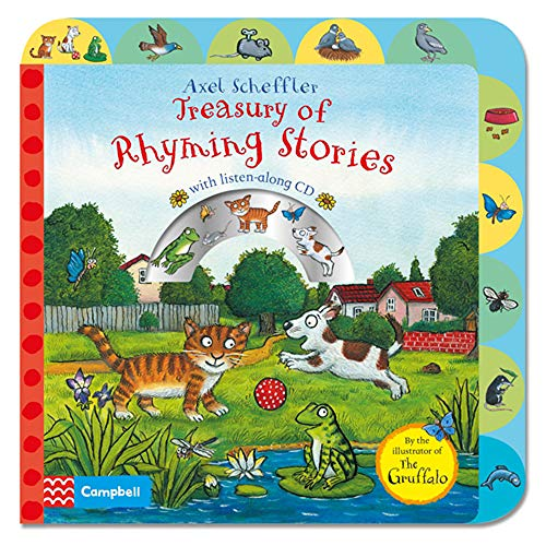 9781447277255: Treasury of Rhyming Stories Book and CD (Book & CD)