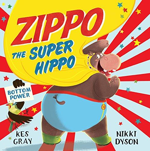Zippo the Super Hippo: Gray, Kes