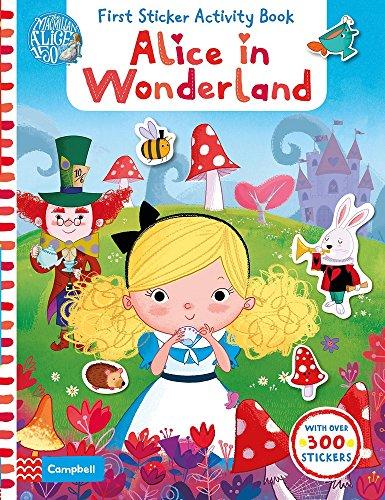 9781447285120: Alice in Wonderland: First Sticker Activity Book