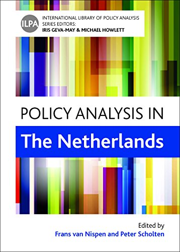 Policy Analysis in the Netherlands (International Library of Policy Analysis): Scholten, Peter
