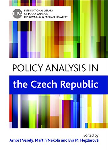 9781447318149: Policy Analysis in the Czech Republic (International Library of Policy Analysis)