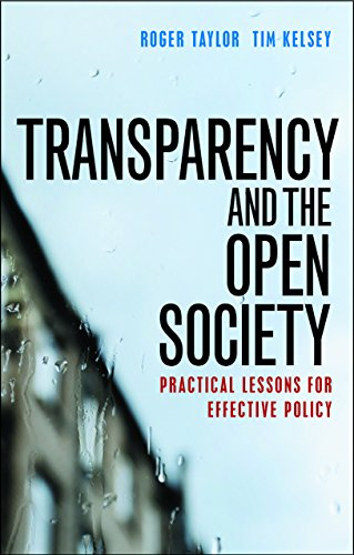 Transparency and the open society: Roger Taylor, Tim Kelsey