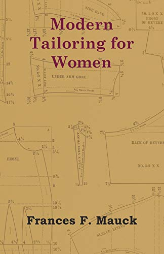 Modern Tailoring for Women (Paperback): Frances F. Mauck
