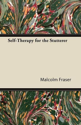 9781447427292: Self-Therapy for the Stutterer