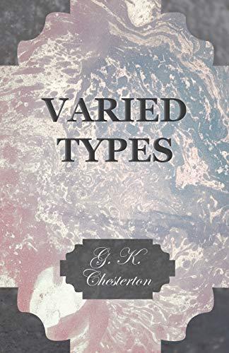 Varied Types: G. K. Chesterton