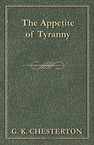 9781447467663: The Appetite of Tyranny
