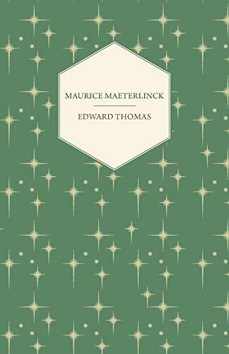 9781447472001: Maurice Maeterlinck