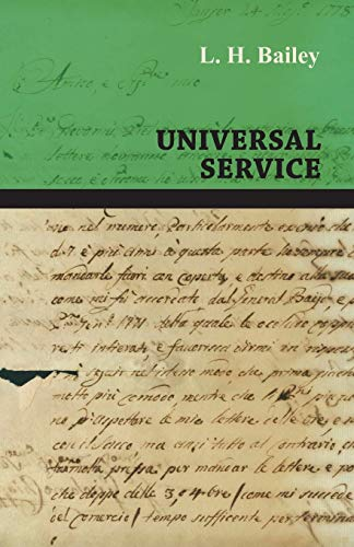 9781447472377: Universal Service