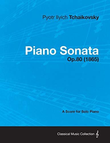 9781447476542: Piano Sonata - A Score for Solo Piano Op.80 (1865)