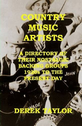 9781447618881: Country Music Artists