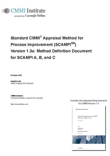 9781447713296: Standard Cmmi Appraisal Method For Process Improvement (Scampi) Version 1.3a: Method Definition Document for Scampi A, B, and C