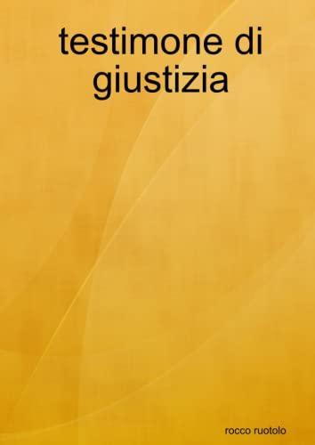 9781447759072: Testimone Di Giustizia (Italian Edition)