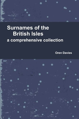 9781447854982: Surnames Of The British Isles